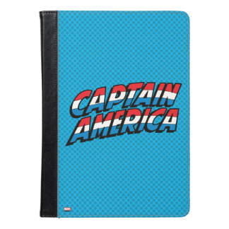 Captain America Name Logo iPad Air Case