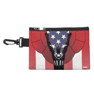 Captain America Patriotic City Graphic Accessory Bag