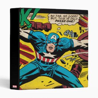 Captain America-Phase One Binder