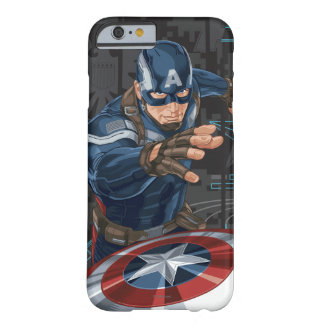 Captain America Profile Card Barely There iPhone 6 Case