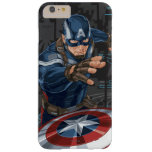 Captain America Profile Card Barely There iPhone 6 Plus Case