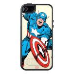 Captain America Retro 9 OtterBox iPhone 5/5s/SE Case