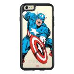 Captain America Retro 9 OtterBox iPhone 6/6s Plus Case