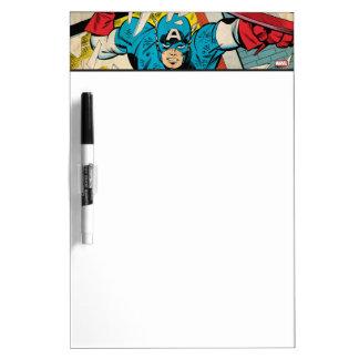 Captain America Revival Dry Erase Board