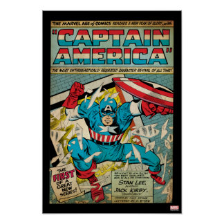 Captain America Revival Poster