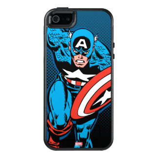 Captain America Run OtterBox iPhone 5/5s/SE Case