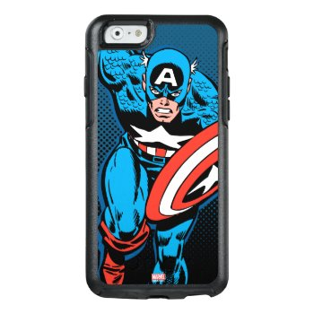Captain America Run Otterbox Iphone 6/6s Case by marvelclassics at Zazzle