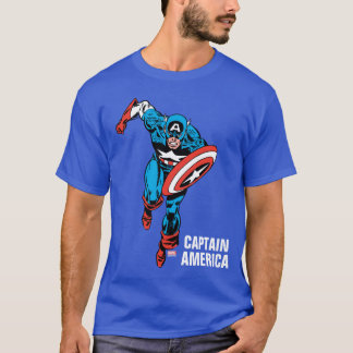 Captain America Run T-Shirt