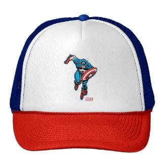 Captain America Run Trucker Hat