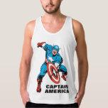 Captain America Shield Slam Tank Top