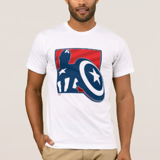 Captain America Silhouette Icon T-Shirt