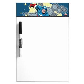 Captain America Star Dry-Erase Board