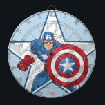 "Captain America Star Graphic Dart Board<br><div class=""desc"">Captain America 