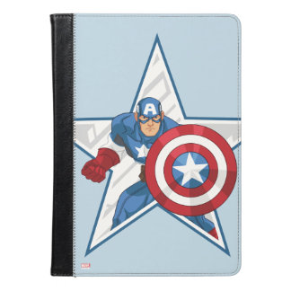 Captain America Star Graphic iPad Air Case