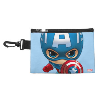 Captain America Stylized Art Accessory Bag