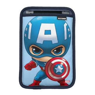 Captain America Stylized Art iPad Mini Sleeves