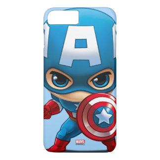 Captain America Stylized Art iPhone 8 Plus/7 Plus Case