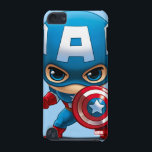 "Captain America Stylized Art iPod Touch 5G Case<br><div class=""desc"">Avengers Classics 