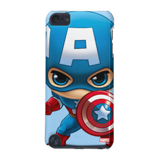 Captain America Stylized Art iPod Touch 5G Case