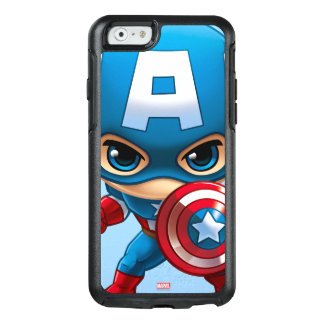 Captain America Stylized Art OtterBox iPhone 6/6s Case