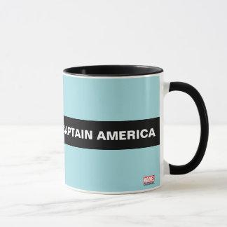 Captain America Stylized Line Art Mug