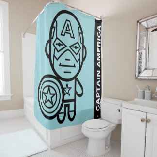 Captain Shower Curtains | Zazzle