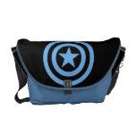 Captain America Super Soldier Logo Courier Bag