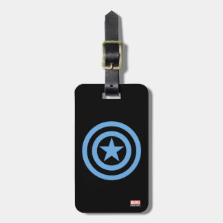 Captain America Super Soldier Logo Luggage Tag