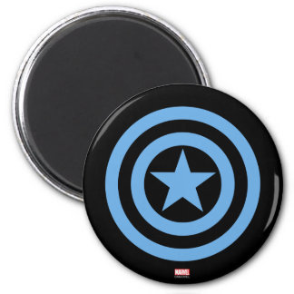 Captain America Super Soldier Logo Magnet