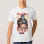 Captain America Team Recruitment Poster Shirt