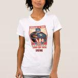 Captain America Team Recruitment Poster Tee Shirt