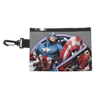 Captain America Versus Red Skull Accessory Bag
