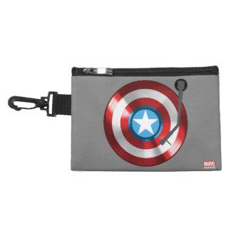 Captain America Vinyl Record Player Accessory Bag