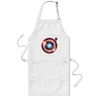 Captain America Vinyl Record Player Long Apron