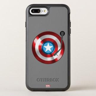 Captain America Vinyl Record Player OtterBox Symmetry iPhone 8 Plus/7 Plus Case