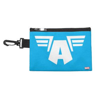 Captain America Winged Symbol Accessory Bag