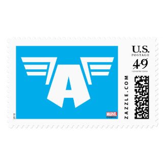 Captain America Winged Symbol Postage