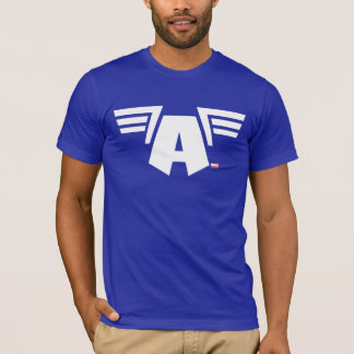 Captain America Winged Symbol T-Shirt