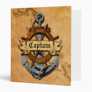 Captain Anchor And Wheel Binder