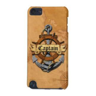 Captain Anchor And Wheel iPod Touch (5th Generation) Covers