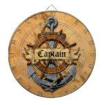 Captain Anchor And Wheel Dart Boards