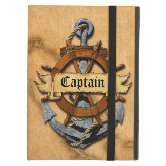 Captain Anchor And Wheel iPad Air Cover