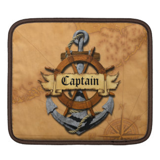 Captain Anchor And Wheel Sleeve For iPads