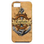 Captain Anchor And Wheel iPhone 5 Covers