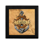 Captain Anchor And Wheel Jewelry Box