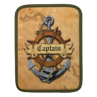 Captain Anchor And Wheel Sleeves For iPads
