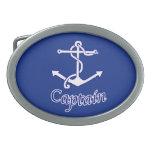 Captain Anchor Buckle Belt Buckle