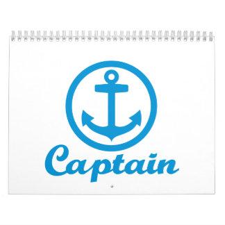 Captain anchor calendar