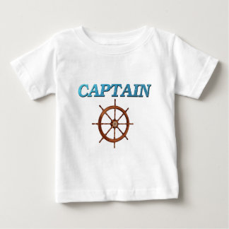Captain and Captain's Wheel Baby T-Shirt