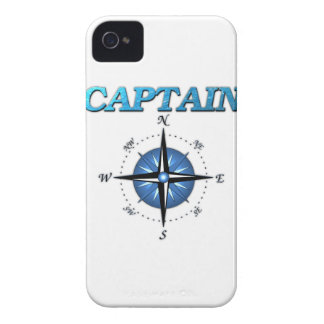 Captain And Compass Rose iPhone 4 Cases